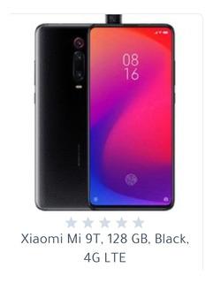 Celular Xiaomi Mi 9t , 128 , Gb Black 4 G Lte