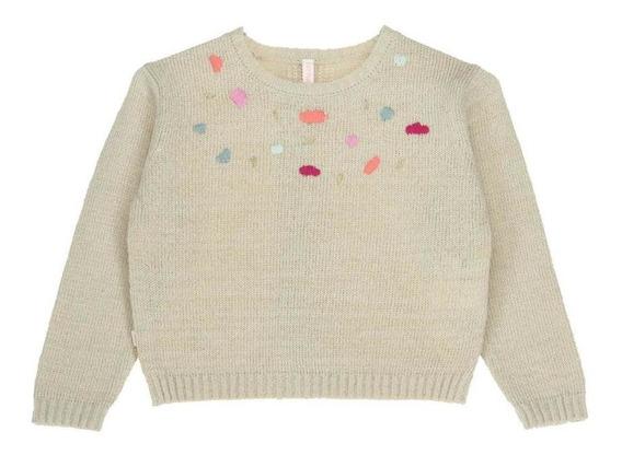 Sweater Niña Hush Puppies Kids Gw20-swt/cinta Sand Shell