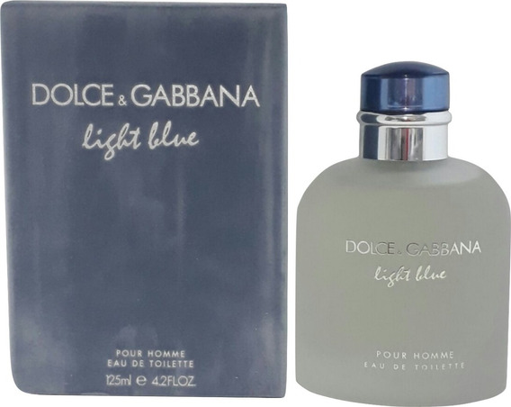 Perfume Dolce Gabbana Light Blue 125ml Masc+ Brinde Amostra