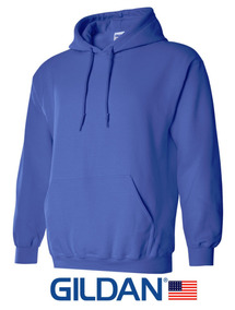 Sudaderas Gildan 3xl 4xl 5xl Azul Para Estampar 18500 U S A