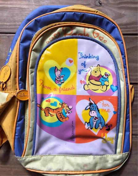 Mochila Winnie Pooh Disney Ideal Para El Jardin