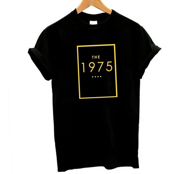 Playera The 1975 Unisex Rock 90s Manga Corta Moda