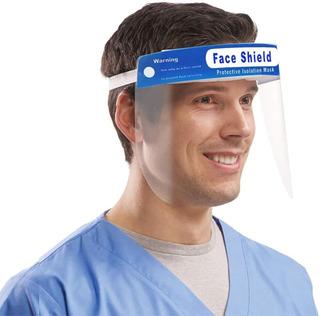 Máscara Protector Facial Escudo Transparente - Otec