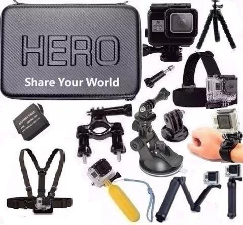 Bateria Estanque Backdoor Kit Gopro Hero 5 Envio Rapido