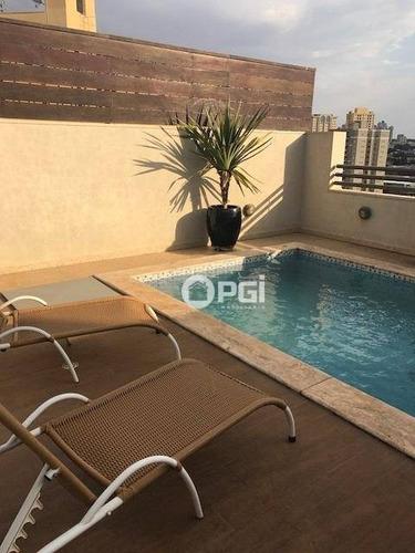 Imagem 1 de 30 de Cobertura Com 5 Dormitórios Para Alugar, 371 M² Por R$ 5.000/mês - Vila Seixas - Ribeirão Preto/sp - Co0085