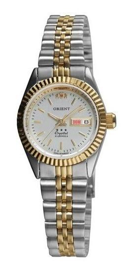 Relógio De Pulso Orient Feminino Automático 559eb3x