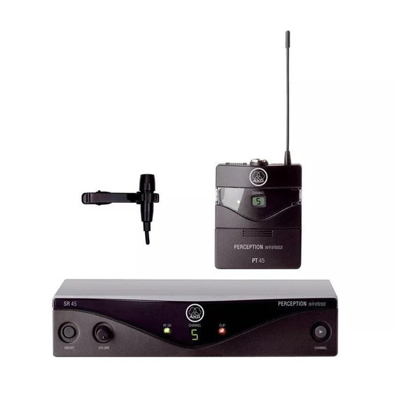 Microfone Lapela Akg Pres Set Perception 45 Bda