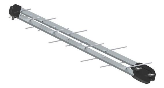 Kit 10 Antenas Digitais Uhf Brasforma 16 Elementos Sl-1600