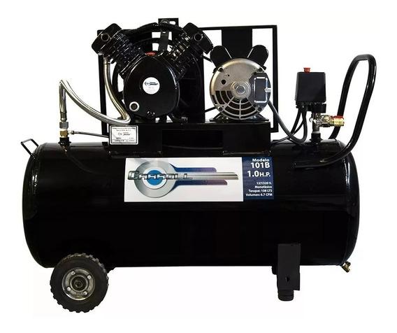 Compresor De Aire 108 Lts Motor 1 Hp Cabezal 6 Cfm C/llantas