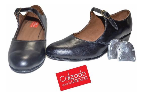 Zapatos De Danza Tap Con Chapas Incluidas De Danza