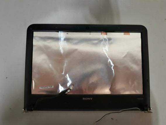 Tampa Do Lcd Notebook Sony Vaio Vpcea43fv Pcg-61211x