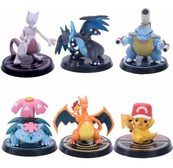 Super Figura Coleccion Pokemon Pikachu Charizard X Blaatoise
