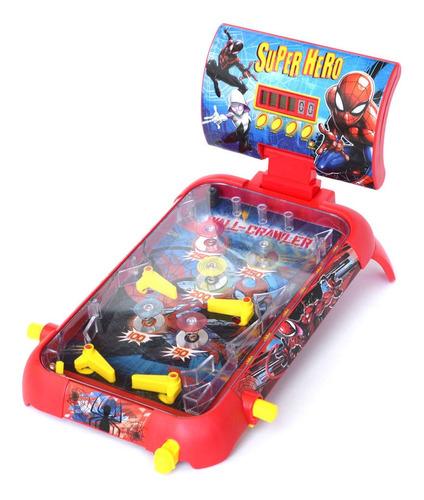 Super Flipper Spiderman Electronico Con Luz, Sonido Y Contad