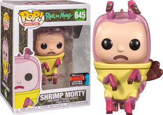Shrimp Morty Rick And Morty Fall Convention Funko Pop