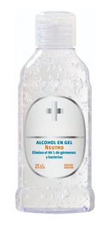 Alcohol En Gel De Manos Antibacterial Neutro Portatil