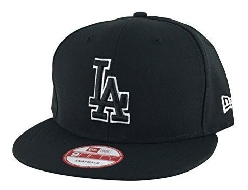 Gorra Snapback New Era 9fifty Los Angeles Dodgers Black Whit