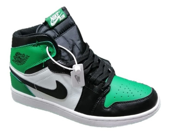Jordan 1 Retro High Pine Green (gs) Envío Gratis