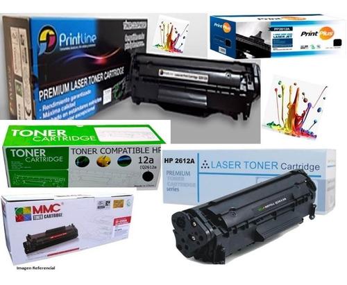 Toner Hp Q2612a Generico - 12a -100% Garantizados-