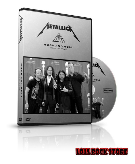 Dvd - Metallica Live At The 25th Anniversary Hall Of Fame