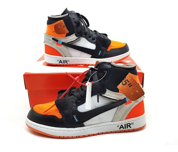 Tênis Masculino Air Jordan Off White Basquete Hype