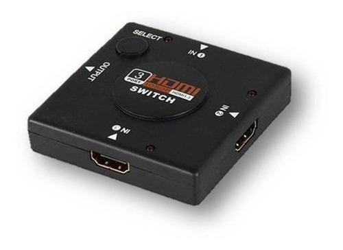 Divisor Switch  Hdmi 3x1 Com Nf  Original 15355