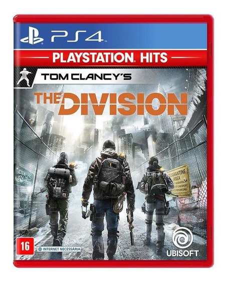 Tom Clancys The Division Ps4 Mídia Física Novo Lacrado