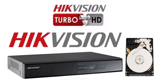 Dvr Hikvision 16ch Hd 1 Tera + 03 Cameras 720 P