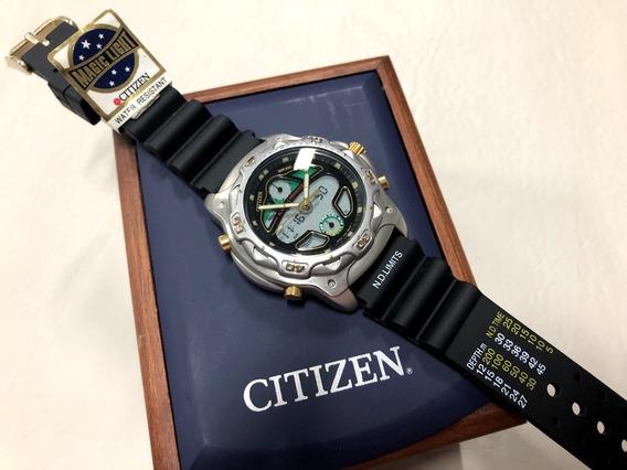 Citizen Promaster Wingman C400 Raríssimo Novo Na Caixa