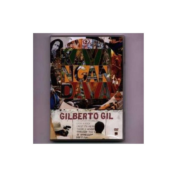 Gil Gilberto Kaya N Gan Daya Dvd Nuevo