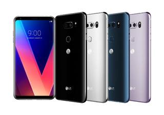 LG V30 64 Gb Liberado Nuevo A Meses Envio Gratis