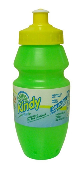 Kindy Light Cooler 280cc - Concentrado De Limón Y Sucralosa