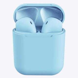 Azul AirPods I12 Audifono Inalámbrico Bluetooth V5.0 Hifi