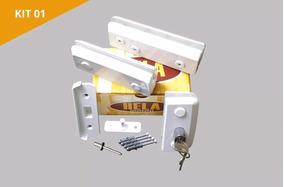 Kit 01 Para Montagem Porta Simples Pivotante