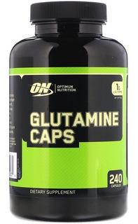 Glutamina Optimum Nutrition 1000 Mg 240 Cápsulas - E U A