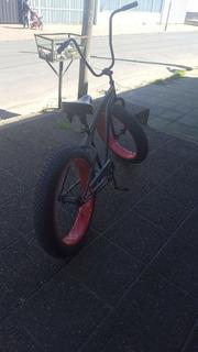 Bicicleta Fat Bike Ruedas Grandes De Playa