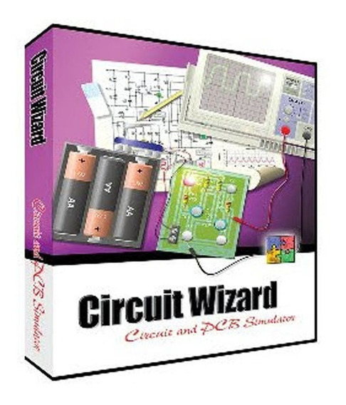 Simulador Eletrônico Cirquit Wizar + Ativação Serial