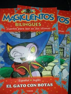 Revista Bilingüe Magicuentos El Gato Con Botas
