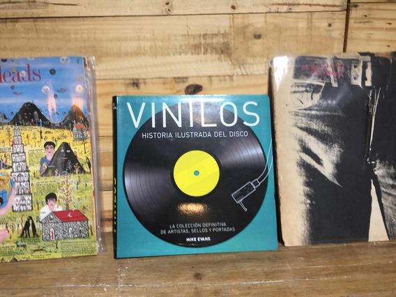 Libro Vinilos Historia Del Disco Mike Evans Lp Discos