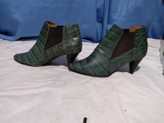 Botas De Mujer Lucerna Verdes, 40