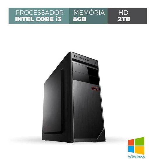 Computador Corporate I3 8gb 2tb Windows
