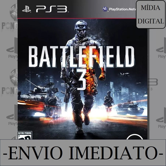 Battlefield 3 Ps3 Psn Mídia Digital Original Psn Play 3