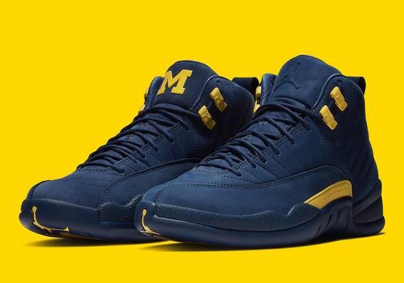 Zapatillas Nike Air Jordan 12 michigan 40-47