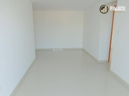 Imagem 1 de 30 de Apartamento Com 2 Dormitórios À Venda, 82 M² Por R$ 435.000,00 - Vila Guilhermina - Praia Grande/sp - Ap2741