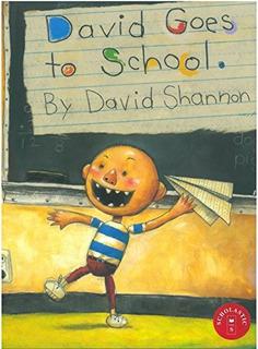 Book : David Goes To School - David Shannon