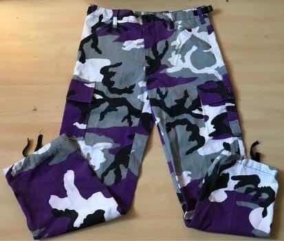 Pantalón Estilo Militar Para Niña
