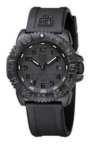 Luminox 3051 Blackout Evo Navy Seal Swiss Dive Watch