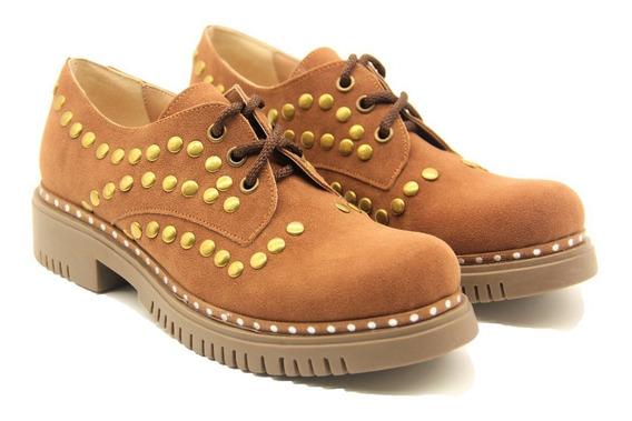 Zapato Mujer Abotinado Otoño-invierno2018 Nuevo