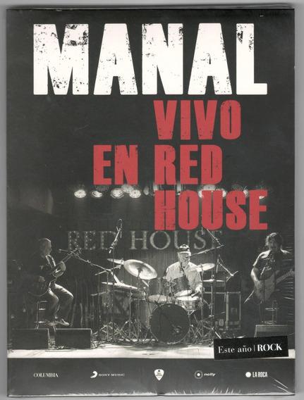 Manal Vivo En Red House Cd + Dvd Nuevo