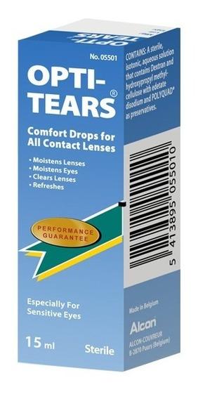 Opti Tears Lágrima Lubricante Y Humectante Lentes Contacto