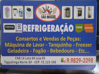 Conserto De Máquina De Lavar, Geladeira, Freezer